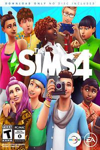 Sims 4 - Standard - PC EA Origin Digital Key - Base Game Code - Global