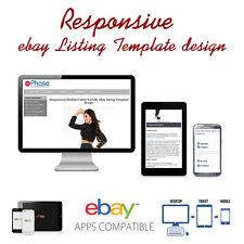 Responsive ebay Listing Template design, auctiva, inkfrog, RESPONSIVE DESIGN