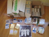Huge 26 lb BASEBALL CARD LOT 1988 1989 Griffey Don Russ Fleer Upper Deck rookie