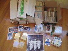 Huge 26 lb BASEBALL CARD LOT 1988 1989 Griffey Don Russ Fleer Upper Deck rookie