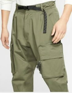 New Nike ACG Men's Woven Cargo Pants Cargo Khaki CD7646-325 Men's Size