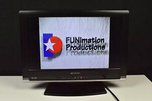 EMERSON 19 INCH HDTV MONITOR LCD TV DVD PLAYER HDMI AV PORTS TESTED