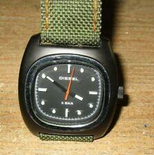 Diesel Men's Watch DZ2089 Army Green Cloth Band