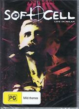 Soft Cell Live in Milan DVD PAL Region All Marc Almond Tainted Love