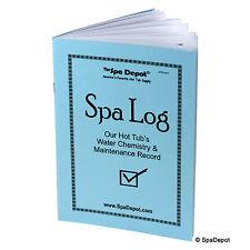 Spa Log Book - Water Chemistry & Maintenance Record for Hot Tub & Swim Spa