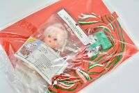 Vintage Christmas Mrs.Claus Air Freshener Doll Kit DIY Arts Crafts Yarn Canvas