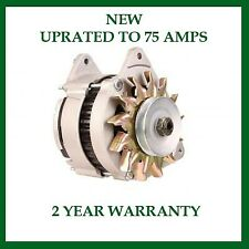 Alternator fits Ford Capri 1968-81 Cortina 1979-82 Escort 1980-2000 Uprated 75A