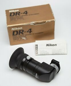 EX+! Nikon DR-4 Right Angle Viewfinder Black in Box
