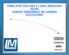 TUBO PTFE DI2-DE4 L=290+2BOCCOLE ECAM 5513212901 DE LONGHI ORIGINALE