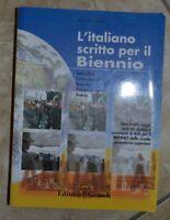 NURBI - L' ITALIANO SCRITTO PER IL BIENNIO - ED: IL GIRASOLE - ANNO: 2008 (GK)