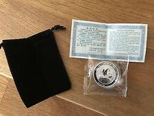 2016 China Smithsonian Panda Bei Bei 1 Oz .999 Silver Proof Medal