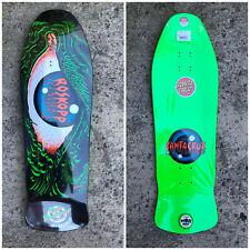 Old School Santa Cruz Rob Roskopp Eye Limited Edition Reissue Skateboard Deck