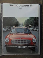 VOLVO 1800S SPORTS CAR orig 1967 1968 USA Mkt Sales Brochure - P 1800 S