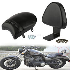 Passenger Rear Pillion Seat Backrest Pad Sissy Bar For Victory Vegas High ball