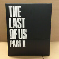 The Last of Us 2 Part II Collectors Ps4 Outside Box Not in Eng all the rest yes