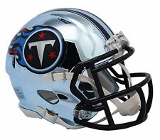 NFL Tennessee Titans Chrome Alternate Speed Mini Helmet Unisex Fanatics