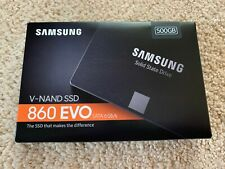 New Samsung 860 EVO 500GB,Internal,2.5 inch (MZ76E500BAM) Solid State Drive