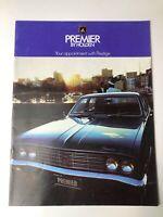 Vintage 1970's Holden Premier Sales Brochure