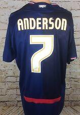 Nottingham Forest 2009/2010 Away Football Shirt #7 Paul Anderson Medium/Large