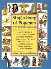 Sing A Song of Popcorn: Every Child's Book of Poems (1988 HCDJ)