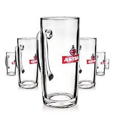 6 x Astra Bier Glas Gläser 0.5l Seidel Hamburg Kiez Bierglas Gastro Bar NEU