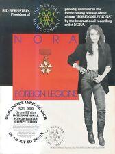 "(SFBK75) POSTER/ADVERT 14X11"" NORA : FOREIGN LEGIONS (SID BERSTEIN)"