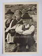 Val SARENTINO Sarntal bambini Alto Adige Bolzano vecchia cartolina 7
