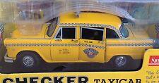 Sun Star 1981 NYC Taxi Cab Checker taxicab 1:18 2501 New York model NY yellow