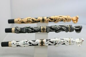 Jinhao Snake Series Medium Fountain Pen, 3 Finishes, UK Seller