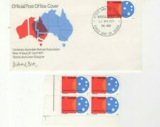 1971 Australia - Natives Association Fdc And U/M Stamps From Collection 6/42