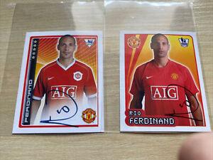 07 Merlin Sticker Manchester United Rio Ferdinand Printed Auto Stickers Lot2