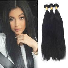 7A Brazilian Hair Weave Bundles Straight 100% Human Hair Weft Remy Hair Weaving