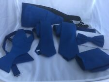 Air Force Blue Collection of >>Polyester Hankie-Ties-Bow tie - Cummerbund + Sets