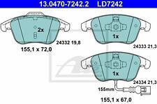 ATE CERAMIC BREMSBELÄGE VORNE AUDI Q3 (8U) VW SHARAN (7N1 7N2) TIGUAN (5N)