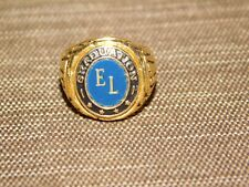 VINTAGE 1967 EL GRADUATION SCHOOL RING SIZE 1
