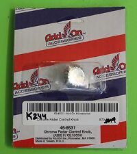 Chrome Fader Control Knob -(ABS) -F/GL1500/6 #45-8531 Item #1