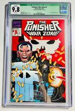 The Punisher: War Zone #1 (Mar 1992, Marvel) Signed by John Romita Jr.