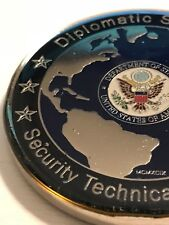 Diplomatic Security Service DSS Security Technical Specialist STS Challenge Coin
