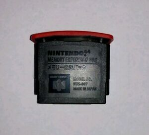 Nintendo 64 Expansion Pak Pack Official N64 Memory Pack OEM Original NUS-007