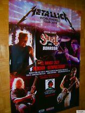 NEU! 2019 XXXL (168cm!!!) METALLICA München Concert-Tour Promo Poster Worldwired
