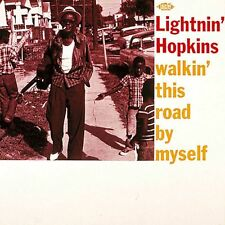 LIGHTNIN' HOPKINS ( LP ) Walkin' This Road By Myself  - NEW - NEUF - ACE RECORDS