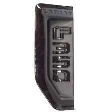 NEW OEM 17-19 Ford F350 Super Duty Lariat Sport Fender Emblem LH Driver's BLACK
