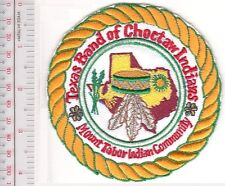 American Indian Tribal Seal Texas Band of Choctaw Indians Mount Tabor Indian Com