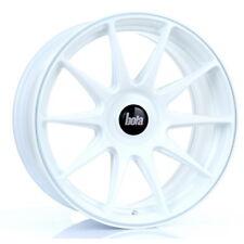 17 inch BOLA B15 4x100 ET35 TO 45 8J WHITE alloy wheels  Chevrolet VIVA Dacia SA
