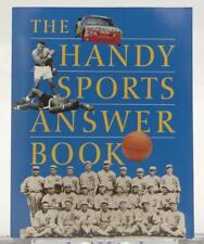 The Handy Sports Answer Book Roger Matuz 1998 SC Illustrated
