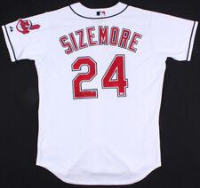 Grady Sizemore Signed Cleveland Indians Majestic Jersey (UDA COA & MLB Hologram)