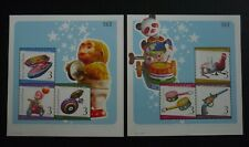 THAILAND 2010 Letter Writing Week TIN toy Classic Toys Set of 2 MS MNH