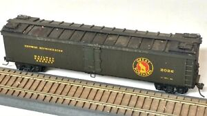 HO Scale Vintage 1950's Great Northern 50' Wood Express Refrigerator Car