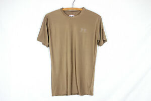 Under Armour Heat Gear US Military Issue Compression T-Shirt Brown Size XXL NWOT