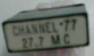 512.962 KHz FT-241 Crystal Channel 77 27.7 MHz